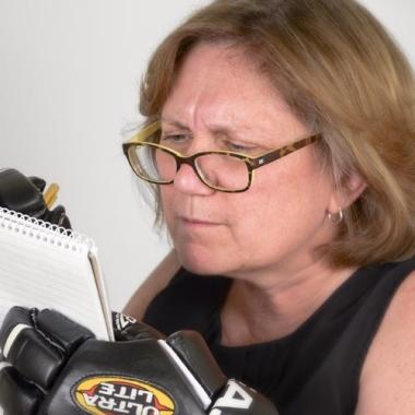 Patricia M. Cowan </br>Senior Copywriter</br><h6>Just say it, already</h6>